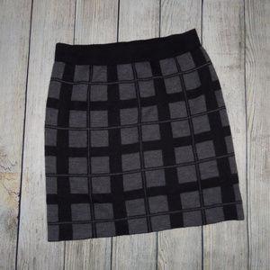 Willi Smith Sweater Mini Skirt L